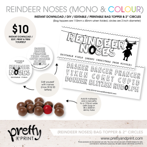 reindeer noses promo 2014